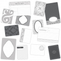 Set di 100 cartoline 15x10 et 7.5x10cm per l' Album Project Life DIY Matrimonio