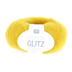 Lana Fashion Glitz Jaune (coloris 03) x50g