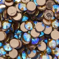 Strass Hotfix Swarovski 2078 mm. 4 Light Colorado Topaz Shimmer x36