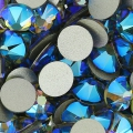 Strass da incollare Swarovski mm. 6 Black Diamond Shimmer x10