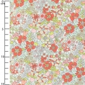 Tessuto Liberty - Flower Tops Coral x10cm