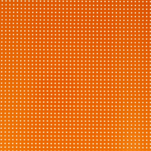 Tessuto Vinile laccato e perforato - Orange x10cm
