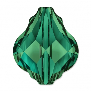 Baroque bead Swarovski 5058 14 mm Emerald x1
