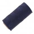 Filo cerato Linhasita per micro macramé 1 mm 1 mm Navy Blue x180m