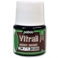 Pittura Vitrail Marrone scuro (n°11) x45ml