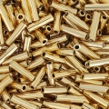 Bugles Miyuki mm. 6 BGL-193 - 24kt Gold Light Plated x5g