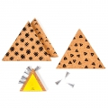 Kit di 3 triangoli per decorazione design I SPY DIY in sughero