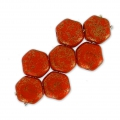 Honeycomb 6 mm Red Corail Luster x20