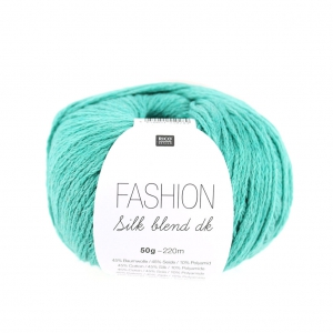 Fashion Silk Blend Dk Rico Design Smeraldo 003 x 50g