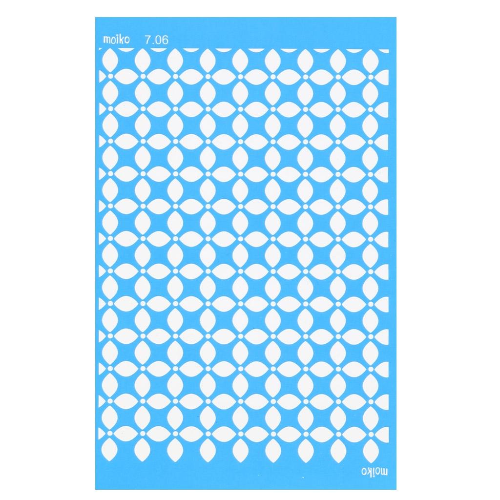 Silk screen moiko 74x105 mm motivo piastrelle for Piastrelle 2 mm