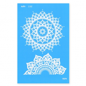 Silk Screen Moiko 74x105 mm - Mandalas 2.02