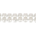 Swarovski Crystal Mesh 40001 2 fili mm.5.3 Light Colorado Topaz x5cm
