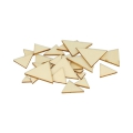 Set de 129 triangles à décorer en bois 1-3 cm Naturel x1