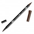 Pennarello Tombow Dual Brush - Pennarello pennello doppia punta Red Brown ABT-899