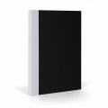 Bloc notes/quaderno per Bullet journal Fantasticpaper  15x20cm Nero/Grigio