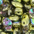 SuperDuo mm. 2.5x5 Crystal Golden Rainbow x10g