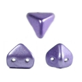 Perle in vetro Super-Khéops® par Puca® 6 mm Purple Metallic x10g
