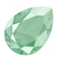 Cabochon Swarovski 4320 pera mm. 18x13 Crystal Mint Green x1