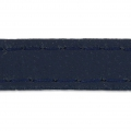 Similpelle con cucitura visibile mm. 10 Navy Blue x 1m