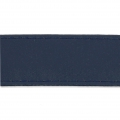 Similpelle con cucitura visibile mm. 25 Navy Blue x 50cm