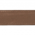 Similpelle con cucitura visibile mm. 25 Dark Bronze x 50cm