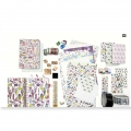Set Paper Poetry bloc notes 145x210 mm Magical Summer x2