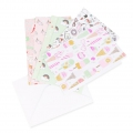 Set di biglietti e buste formato A6 Paper Poetry Magical Summer x 5