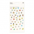 Assortiment de 50 Stickers en relief Paper Poetry Magical Summer Visage x1