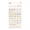 Assortiment de 200 Stickers de Bureau Paper Poetry Magical Summer Visage x1