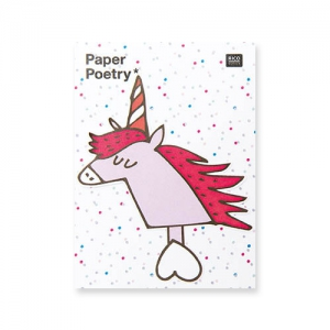 50 Sticky notes Paper Poetry - Magical Summer Unicorno x1