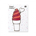 50 Sticky notes Paper Poetry - Magical Summer Gelato x1