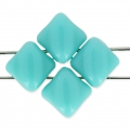 Silky Bead Dia mm.5x5 Green Turquoise x50