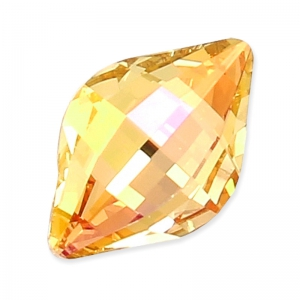 Cabochon Swarovski 4230 Lemon pera mm. 14x9 Crystal Brandy x1