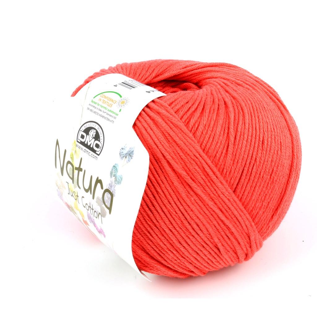 Coton Natura Just Cotton Dmc Filato Di Cotone Coral N18 X 155m