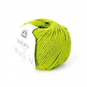 Cotone Natura Medium Just Cotton DMC - Cotone Verde Licheno x 75m