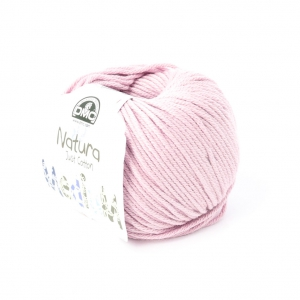 Cotone Natura Medium Just Cotton DMC - Cotone Rosa zucchero a velo x 75m