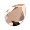Cabochon Swarovski 4320 pera mm. 8x6 Crystal Rose Gold x1