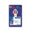 12 crayons de couleurs aquarellables Ergo soft Aquarell - STAEDTLER