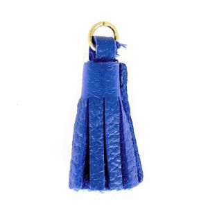 Nappina di cuoio 22 mm per creazioni fai da te blu for Sifone elettrico per acquario fai da te