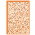 Silk Screen per pasta polimerica 158x121 mm - Paisley Garden Party