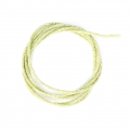 Cordone mm. 2 Light Green filo dorato x 1m