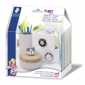 Kit per modellare Fimo Soft: Bottone da mobile