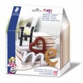Kit per modellare Fimo Soft:  Lettere - Home