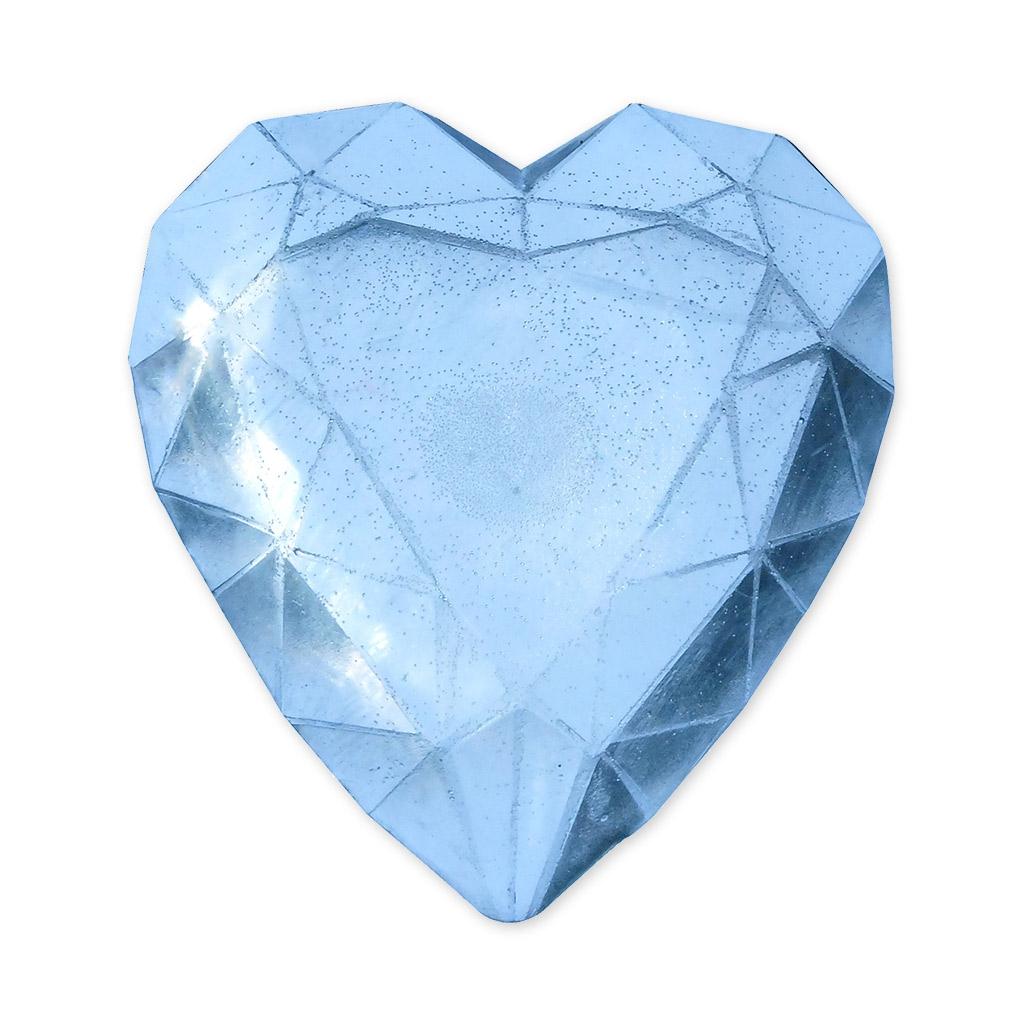 Stampini per creare saponi diamante cuore graine for Soggiorno a forma di diamante