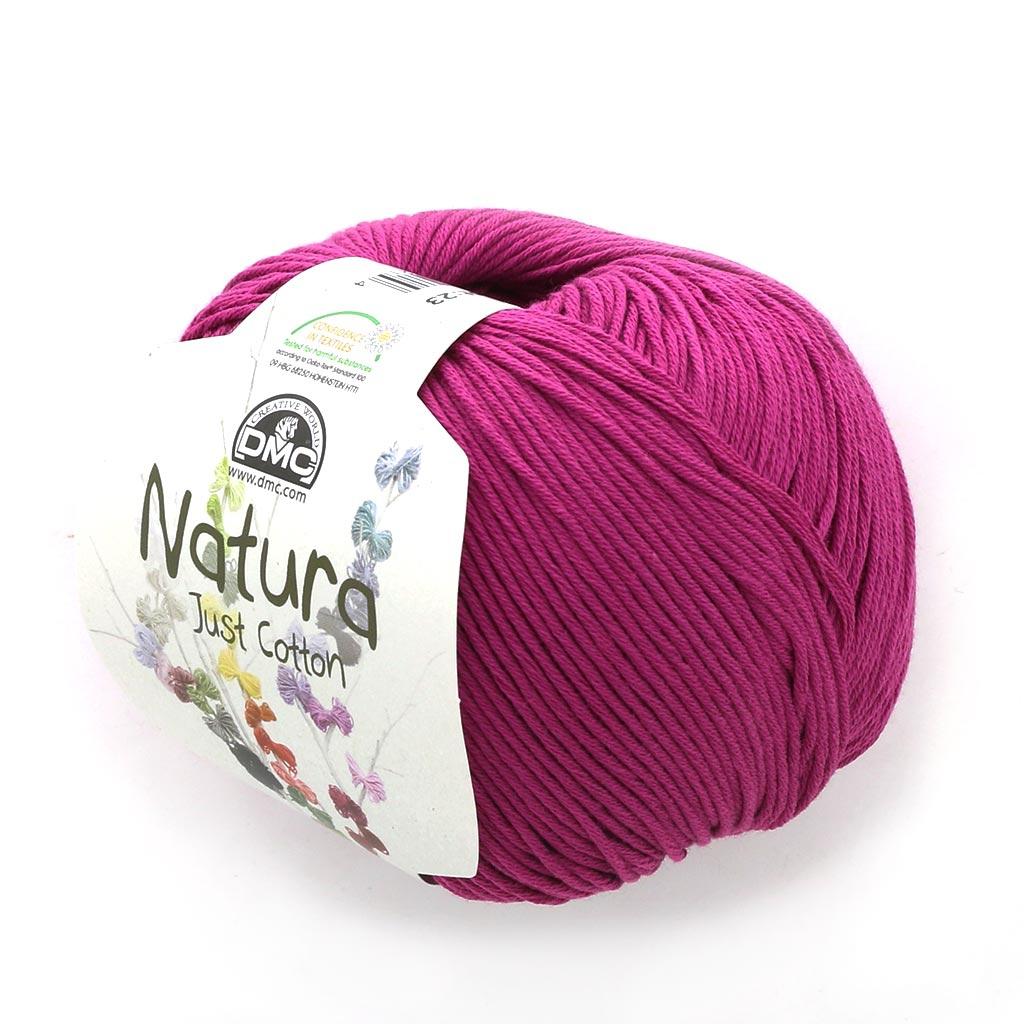 Coton Natura Just Cotton Dmc Filato Di Cotone Ciliegia N62 X