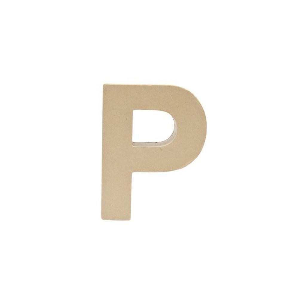 Grande lettera p carta pesta 175 x 13 cm da decorare perles co grande lettera p carta pesta 175 x 13 cm da decorare thecheapjerseys Choice Image