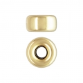 Rondelle 3.2x1.6 mm Gold filled 14 carats x4