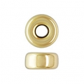 Rondelles 4x2.1 mm Gold filled 14 carati x2