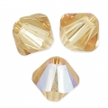 Biconi Swarovski mm. 4 Light Colorado Topaz Shimmer x50