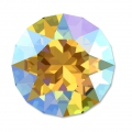 Cabochon Swarovski 1088 mm. 6 Light Topaz Shimmer x1
